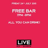 The Sammy Show | LIVE RCA | Free bar 7-9pm | Bangkok | 24-07-15