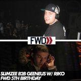 Slimzee b2b Geeneus - FWD 5th Birthday - 25/11/06