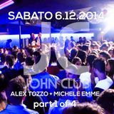 Alex Tozzo Dj and Michele Emme Mc, Live @ John Club (Folgaria-IT) - 2014.12.06 H.23:30 - Part 1 of 4
