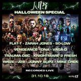 Halloween Special  - DJ Vengeance - MC Vaga-D & MC DNA (Live on NR1 Radio 31.10.18)