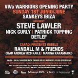 Detlef @ VIVa Warriors Opening Party 2014 - Sankeys Ibiza (01.06.14)