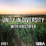 Kristofer - Unity in Diversity 491 @ Radio DEEA (09-06-2018)
