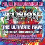 PLURadio LIVE 10-3-2015 - David 'Wicked' White Warm Up To Fusion Part 1