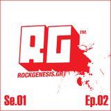 Dj Angel @ RockGenesis Radio - SE01 EP02 - 09.03.2013