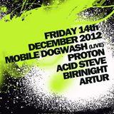 Dj Proton @ Smash Techno - Club 414 London - 2012-12-14