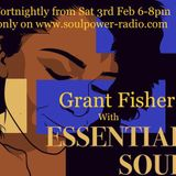 Essential Soul 03-02 with Grant Fisher on Soulpower Radio