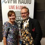 Anne Woodcock on CVFM Radio - 23rd November 2018