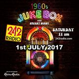 STUART BUSBY'S 1960's JUKEBOX - 242 RADIO - 1-7-2017