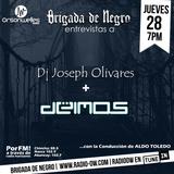 Brigada  junto a Deimos y Dj Joseph Olivares