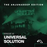 The Anjunadeep Edition 55 with Universal Solution