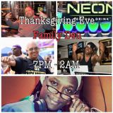 A Night @ the Family Den: Thanksgiving Eve 25 November 2015