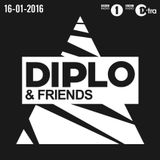 P.A.F.F. @ Diplo & Friends (BBC Radio 1, 16-01-2016)