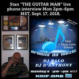 "Around Da Muzic Sept. 9, 2018 Stan ""The Guitar Man"" Jones"