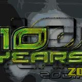DJ D=p+cer - 10 years of Zodiak Commune - 2003 mix-CD