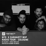 NTS x Carhartt WIP Radio Tour - Cologne w/ Ge-ology, Wolf Muller & Benny Blanco - 13th March 2015