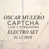 Oscar Mulero - Live @ Electro set at Captcha Family, Sesion a Vinilos (31.12.2016)