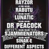 SinaK-E vs Different Aspects & MC M-Core @ Hell's Basement vs Basscode - Club Simplon - Groningen (N