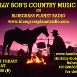 Hillbilly Bob's Country Music Show for 15th June