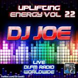 DJ Joe - Uplifting Energy Vol 22 (Live on DI.FM Radio)