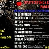 MasteR @ SplitterTone & ExtraCore Party @ Kili Berlin 070913-080913