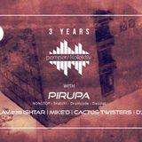 Pirupa - Live @ Cafe d_Anvers, 3 Years Pompers Kollektiv (Antwerp, BEL) - 04.11.2016