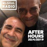 After hours / Roy The Roach & DJ Eren / Mi-Soul Radio /  Sat 1am - 4am / 20-04-2019