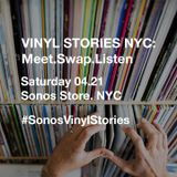 Vinyl Stories NYC 2018. Preview mixtape. Selections by Talib Kweli, Natasha Diggs & Eilon Paz