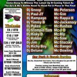 Zodiac Semi Finals @ Moo Bar. Chesterfield 30th August 2013 - DJ Jim & Mc Stokesy