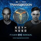 John O Callaghan & Bryan Kearney pres. Key4050 - Live at Transmission 17.03.2018, Bangkok, Thailand