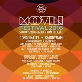 Moovin Festival 28th August 2016 with Dave Law Joe Roberts & Melanie Williams