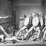 Dead suitors in Hades