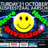 dj Youri Parker @ Retro House Invasion 21-10-2017