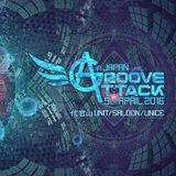 2016-4-9 Groove Attack In Tokyo KURO Goa Dj SET