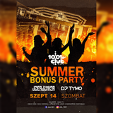 DJ TYMO Summer Bonus live @ Club 1001, Bordány 2019.09.14.