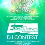 DJ Aphex Mystik Sanctuary DJ Contest