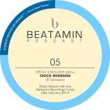 BEATAMIN PODCAST 05 - Chico Migraña (El Salvador) - February/2014