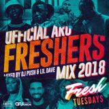 Fresh Tuesdays | ARU Freshers 18