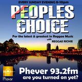 Peoples Choice on Phever 93.2 FM Dublin 8/2/15