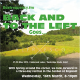 Back and to the Left on Boxfrequency.fm 16/3/2016