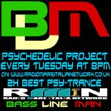 Psychedelic Project Mixed By Bass Line Man On Radio Mare Italia Network Episodio 001 18-07-2013