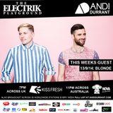 Andi Durrant Electrik Playground 13/9/14 - Blonde Guest Mix