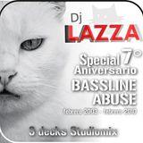 Lazza : 7º Aniversario Bassline Abuse mix - 3 decks feb 2010