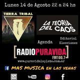 Programa 2 Más Música en las Venas Radio Pura Vida Lunes 14.08 Tierra Tribal