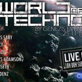 Miss Saby World of Techno @Radio Clubsoundz 25.11.2k18 (Evénement Genezis)