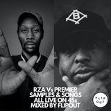 RZA VS PREMIER - ALL 45S - SAMPLES & SONGS