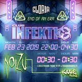 NoiZu - Club Infektio / Glorias Last Industrial Rave Ever (recorded live)