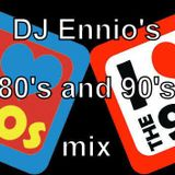 DJ Ennio In The Mix - The 80s and The 90s Mix