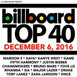 BILLBOARD TOP 40 (clean 12/6/16)