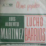 Luis Alberto Martínez - Lucho Barrios : Alma popular. LDC-36901. Odeón. 1964. Chile