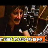 Stuart Henry Saturday Show Radio 1 Saturday 13th January 1973